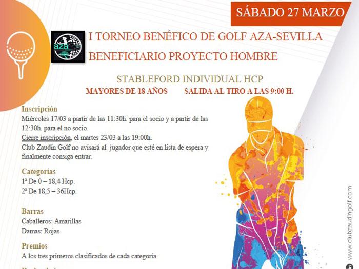 I Torneo Benéfico Aaza Sevilla 27 marzo 2021